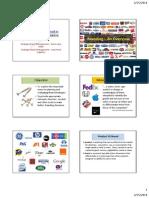 1. Branding An Overview~FW 0911