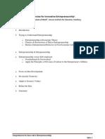 Competencies for Innovative Entrepreneurship