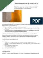 Fascicule FD P 18011 Environnements Agressifs Des Betons Armes Ou Precontraints