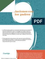 PDH-Relaciones con los  padres - en la preadolescencia