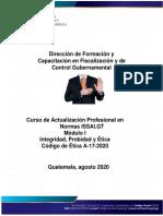 Plan de aprendizaje Módulo 1 Integridad, Probidad y Ética 2020 Arreglado2020