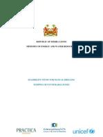 Sierra Leone Final Report Favorable Zones (FINAL)