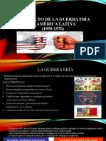 LA GUERRA FRÍA EN AMÉRICA