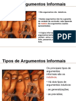 Tipos de Argumentos informais
