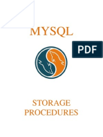 Tutorial MySQL - Stored Procedures
