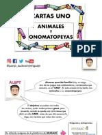 UNO ANIMALES Y ONOMATOPEYAS JUANJO