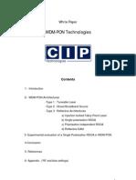 WDM-PON Technologies