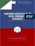 Hematoma-paroxístico-de-los-dedos-Síndrome-de-Achenbach