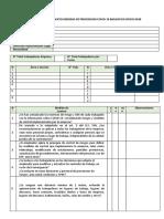 Check List cumplimiento COVID-19 Basado en Oficio 0438