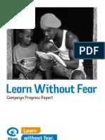 Plan's Learn Without Fear - 2010 Progress report