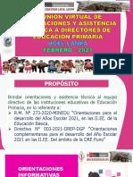 PPT-Inicio Año Escolar  2021 - PRIMARIA (1)