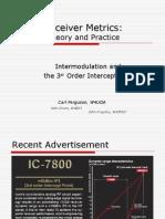 2rd Order Intercept Points From w4uoa Net