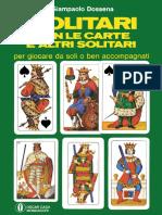 G.dossena - Solitari Con Le Carte