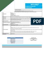 FICHA TECNICA SOLUCION ANTIBACTERIAL -ALCOHOL GLICERINADO ANTIBACTERIAL  MYLAND- GAMM. - PDF (1)