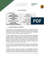programaCálculo Integral_2021