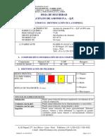 Msds Acetato de Amonio p.a. q.p.