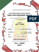 TRABAJO DEL CIF Y FOB - ECONOMIA EMPRESARIAL - ANTONIO FLORES OROSCO