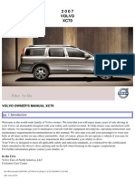 VOLVO XC70 2007 User Manual