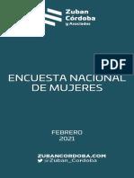 Informe Encuesta Mujeres Feb 2021