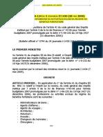 ACTIVITES EXCLUES DU REGIME DU BENEFICE FORFAITAIRE_ Source CGI 2021