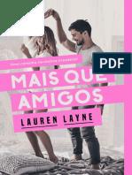 Lauren Layne - Love Unepectedly 01 - Mais Que Amigos