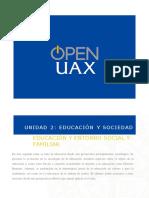 Unidad 2_Educación y Entorno Social y Familiar