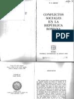 BRUNT Conflictos Sociales en La República Romana (1)