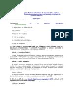 7. LEY Nº  28774, Ley que crea el Registro Nacional de Terminales de Telefonía Celular