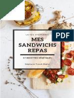 Mes sandwichs repas - bookys