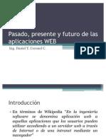 Pasado, presente y futuro de las aplicaciones