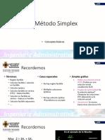 11 Introducción al Simplex - forma algebraica y tabular
