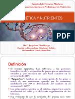 SESION 3 EPIGENÉTICA Y NUTRIENTES