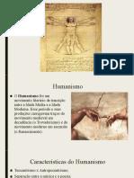 Humanismo x Renascimento - 1ª ADM