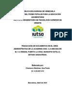 Capitulo I. Marco Institucional