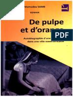 De Pulpe Et D_orange - Mamadou Samb
