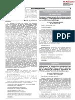 Determinan La Protección Provisional Del Sitio Arqueológico Huaca Lafora Ubicado en El Distrito de Pomalca Provincia de Chiclayo Departamento de Lambayeque