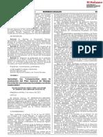 Aprueban Los Lineamientos Para La Evaluación Del Plan General de Manejo Forestal de Concesiones Forestales Con Fines Maderables