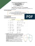 Guia Refuerzo Grado 10 Matematicas