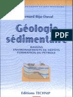 géologie sédimentaire