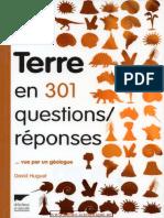 La Terre en 301 questions-réponses _ vue par un géologue-Delachaux et Niestlé