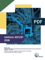2 - Ferris Co Annual Report - Fixed