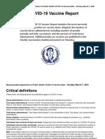 Daily Covid 19 Vaccine Report 3-7-2021