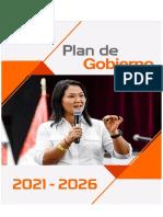 Plan de Gobierno fuerza-popular