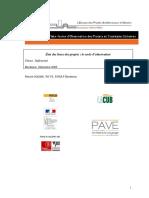 Bordeaux Referentiel p.godier Etat Des Lieux Des Projets