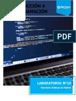 Laboratorio10 Funciones en pyth10