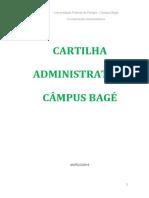 CARTILHA ADMINISTRATIVA _ Campus Bagé