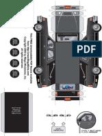 28mm Hearse Vehicle Miniature