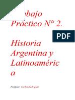 Trabajo Practico N 2 Historia Argentina