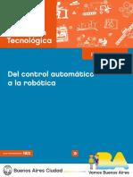 1 Educación Tecnológica. Del Control Automático a La Robótica