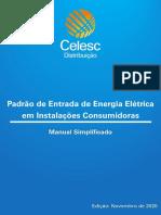 Manual Simplificado Padrao Entrada Energia Eletrica